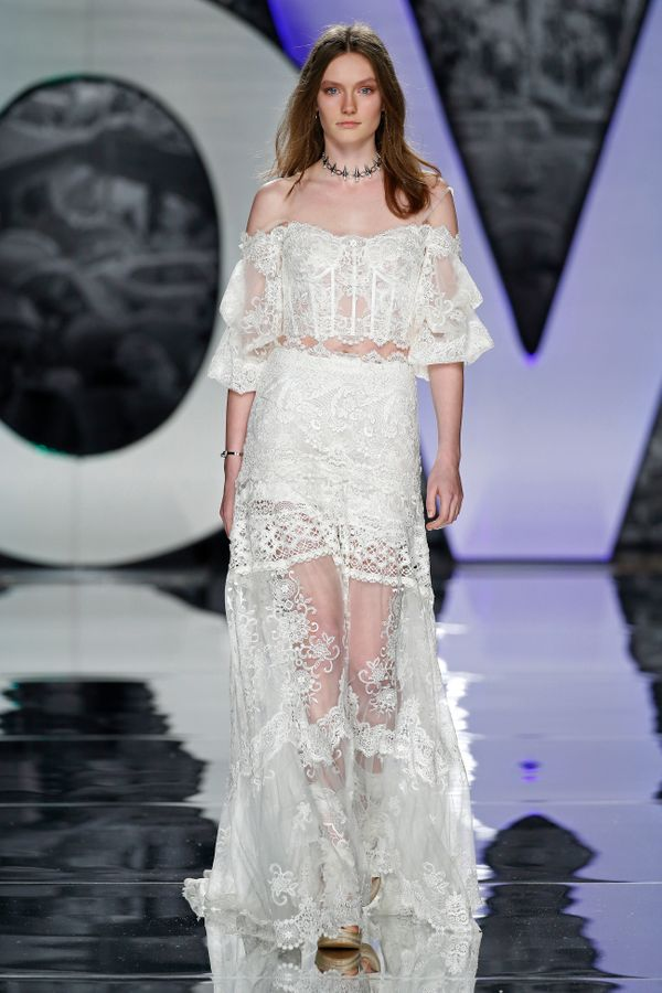 Bridal Fashion Week Spring 2017: The Most Nearly-Naked