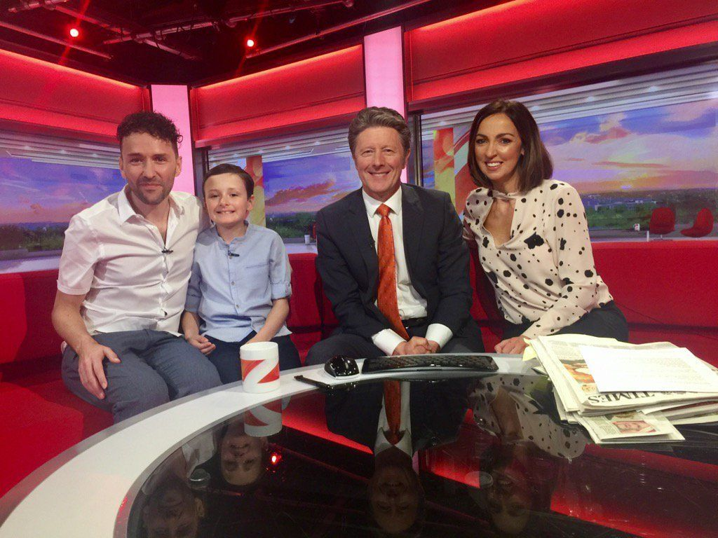 Jaco Steals The Show On BBC Breakfast During Autism