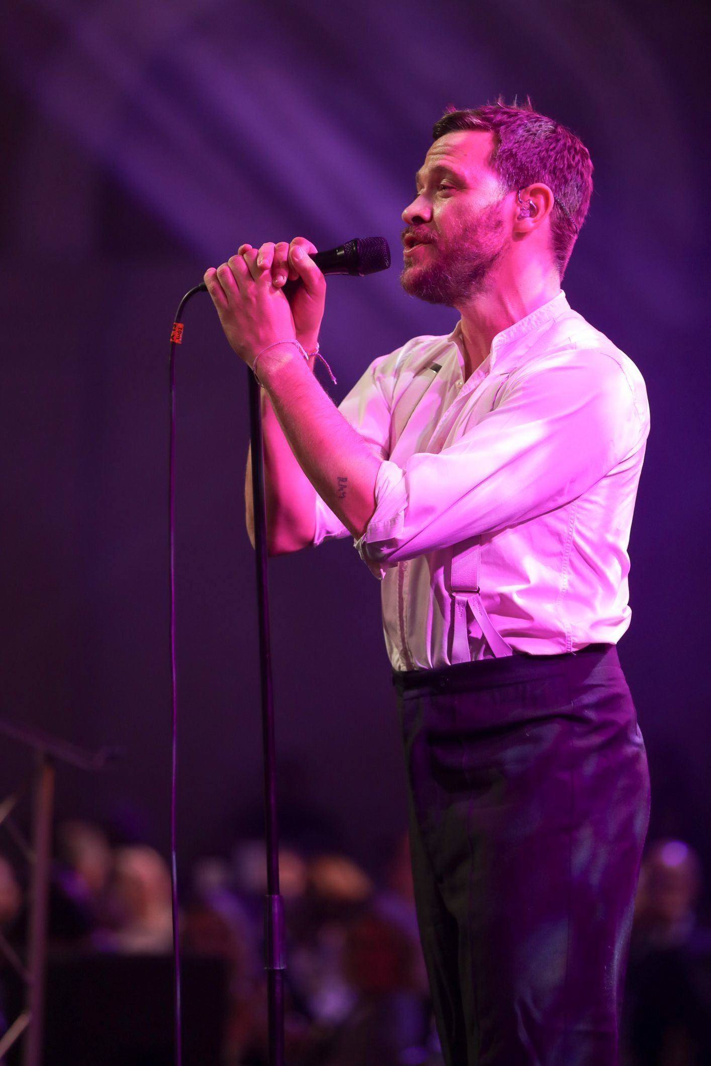 Will Young Adds A New String To His Bow, Helping Others Practise