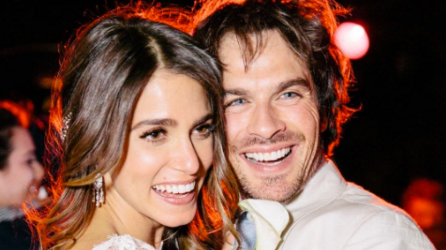 Ian Somerhalder And Nikki Reed Celebrate Wedding Anniversary With