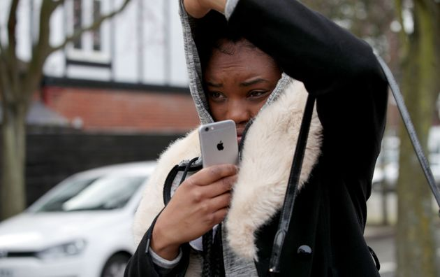 Shanique Syrena Pearson leaving Isleworth Crown Court in