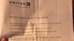 United Promises Cops Won't Drag You Off Plane In Full-Page