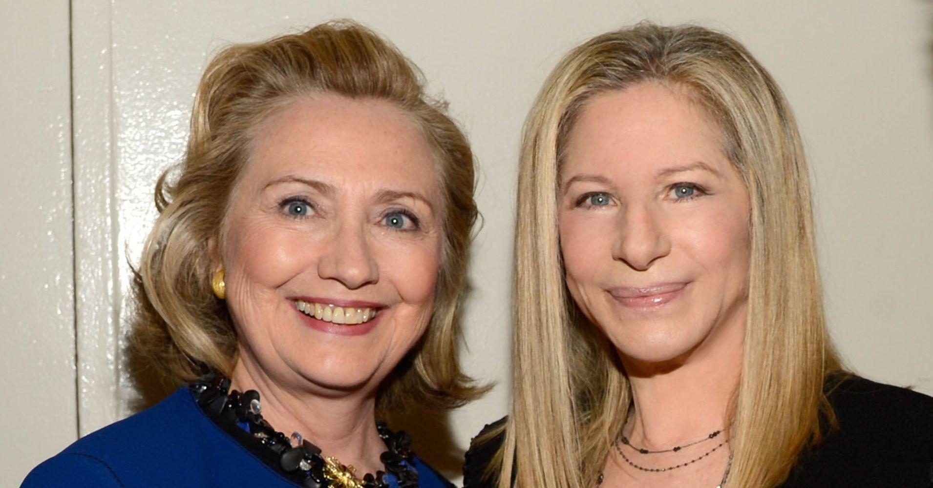 Barbra Streisand Admits Hillary Clinton's Loss Was 'Heartbreaking'