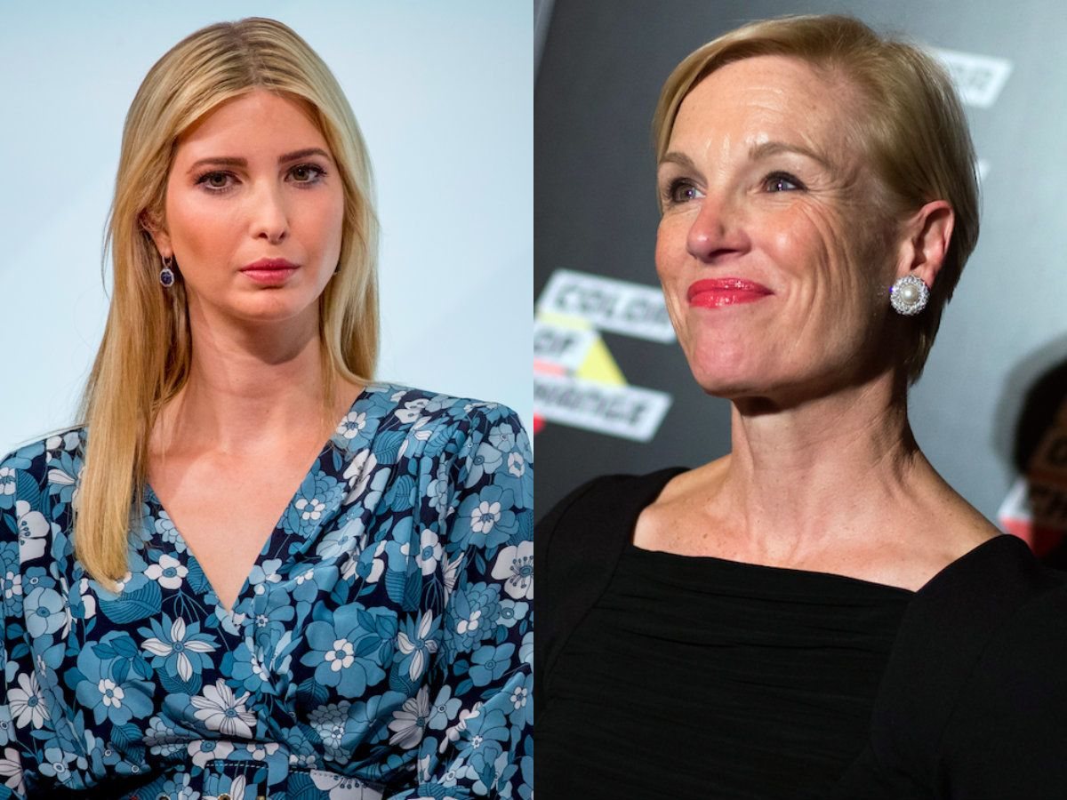 Richards spoke with Cosmopolitan about President Donald Trump's first 100 days and Ivanka Trump's role in the White House.