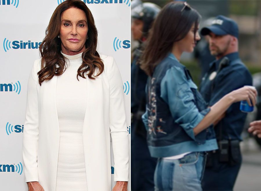 Caitlyn Jenner Sticks Up For Daughter Kendall Over Controversial Pepsi
