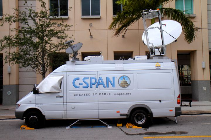 C-SPAN will transmit video and audio from the San Francisco court and audio from the court in Virginia.