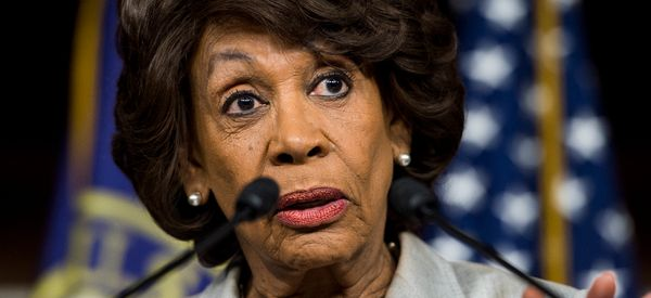 Maxine Waters Delivers Sick Burn About Trump's China Policy Shift