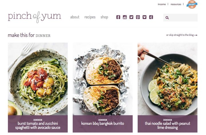 This is how much money food bloggers can actually make huffpost pinch of yum forumfinder