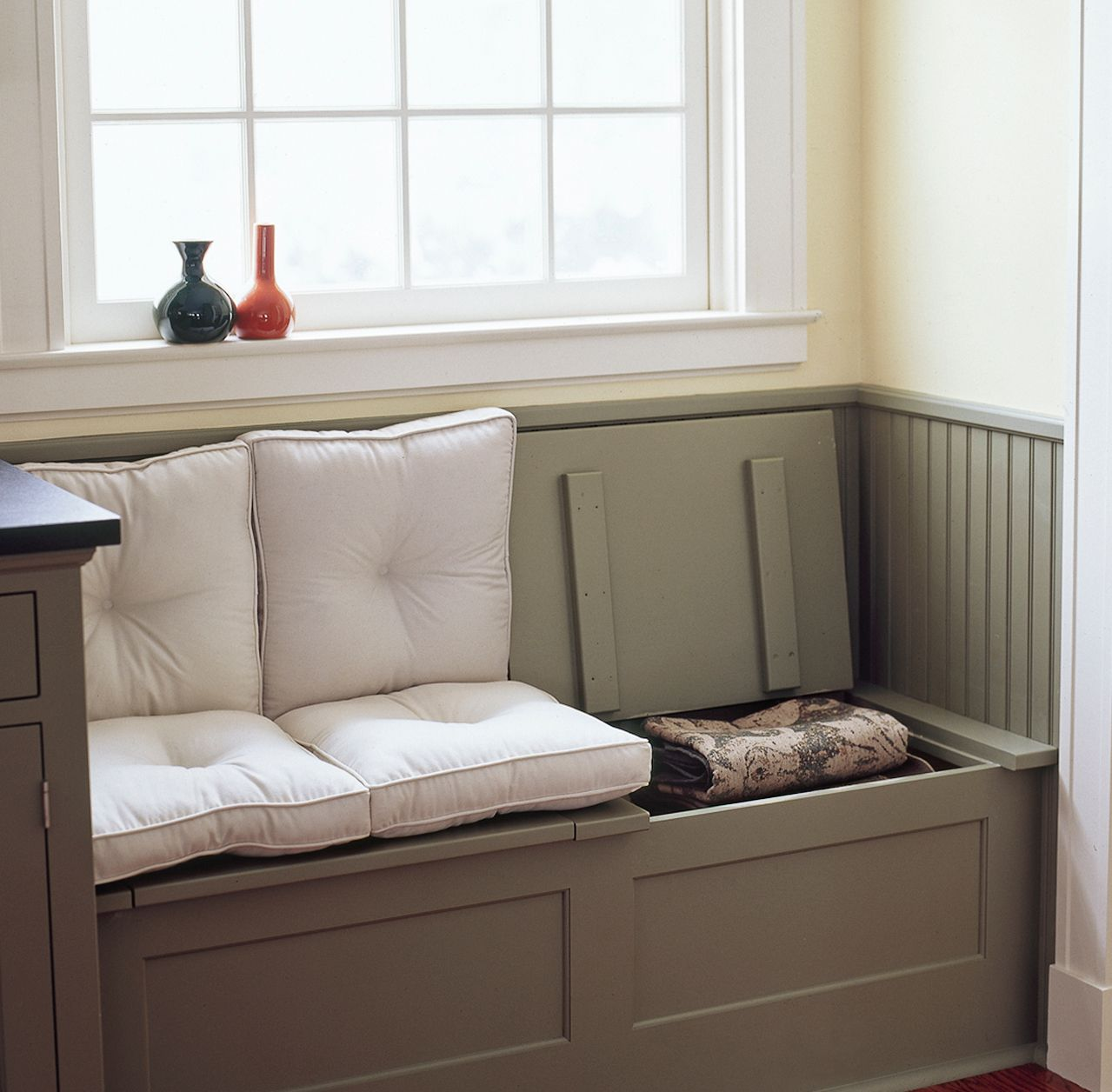 Build in Storage Hinged Top & 5 Window-Seat Storage Ideas Youu0027ll Love | HuffPost
