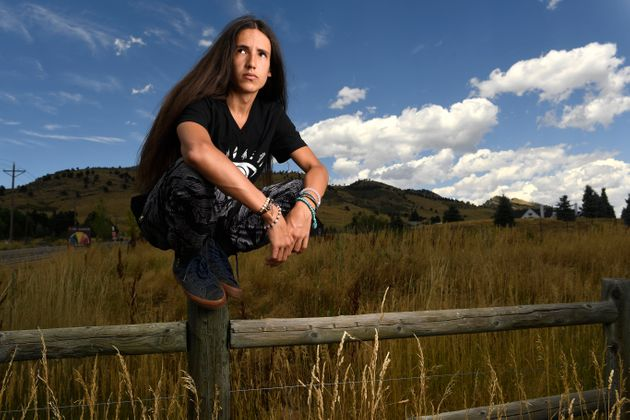Xiuhtezcatl Martinez, 16, is one of 21 young Americans suing the Trump administration to force thefederal...