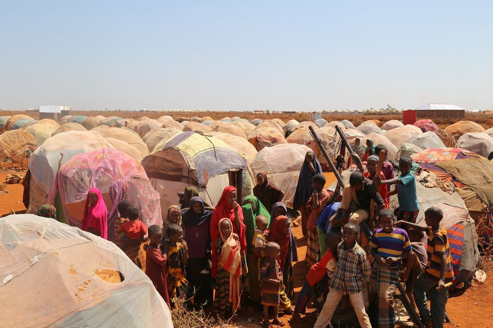 Conditions in IDP camps are often crowded and have led to a dire cholera outbreak in the country.