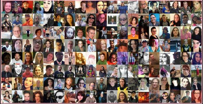 #AMPLIFY's contributors. Image provided by The Lesbian Correspondent.