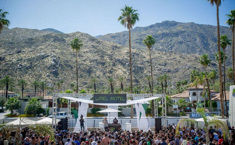 The Mountain Dew Label Motel at Coachella.