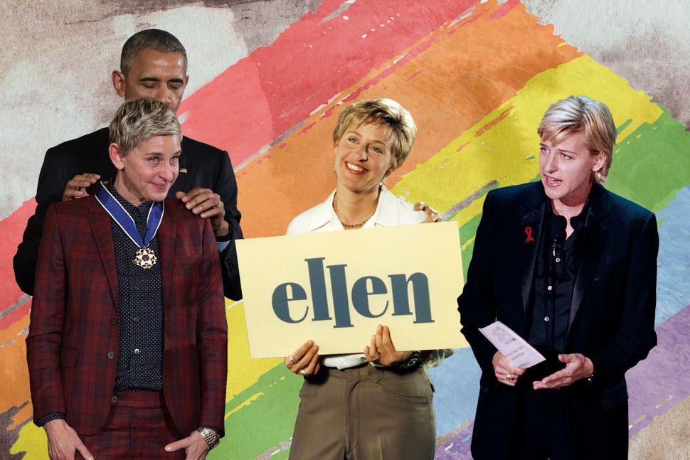 Ellen DeGeneres' decision to come out on primetime led to one of the darkest periods of her life. Twenty years later, it's fi