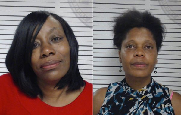 From left: Tracy Gallow 50 and Ann Marie Shelvin 44 are accused of bullying an 11-year-old student