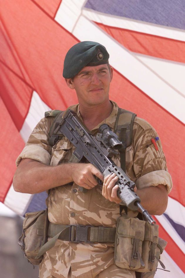 Royal Marine Sergeant Alexander Blackman has been released from