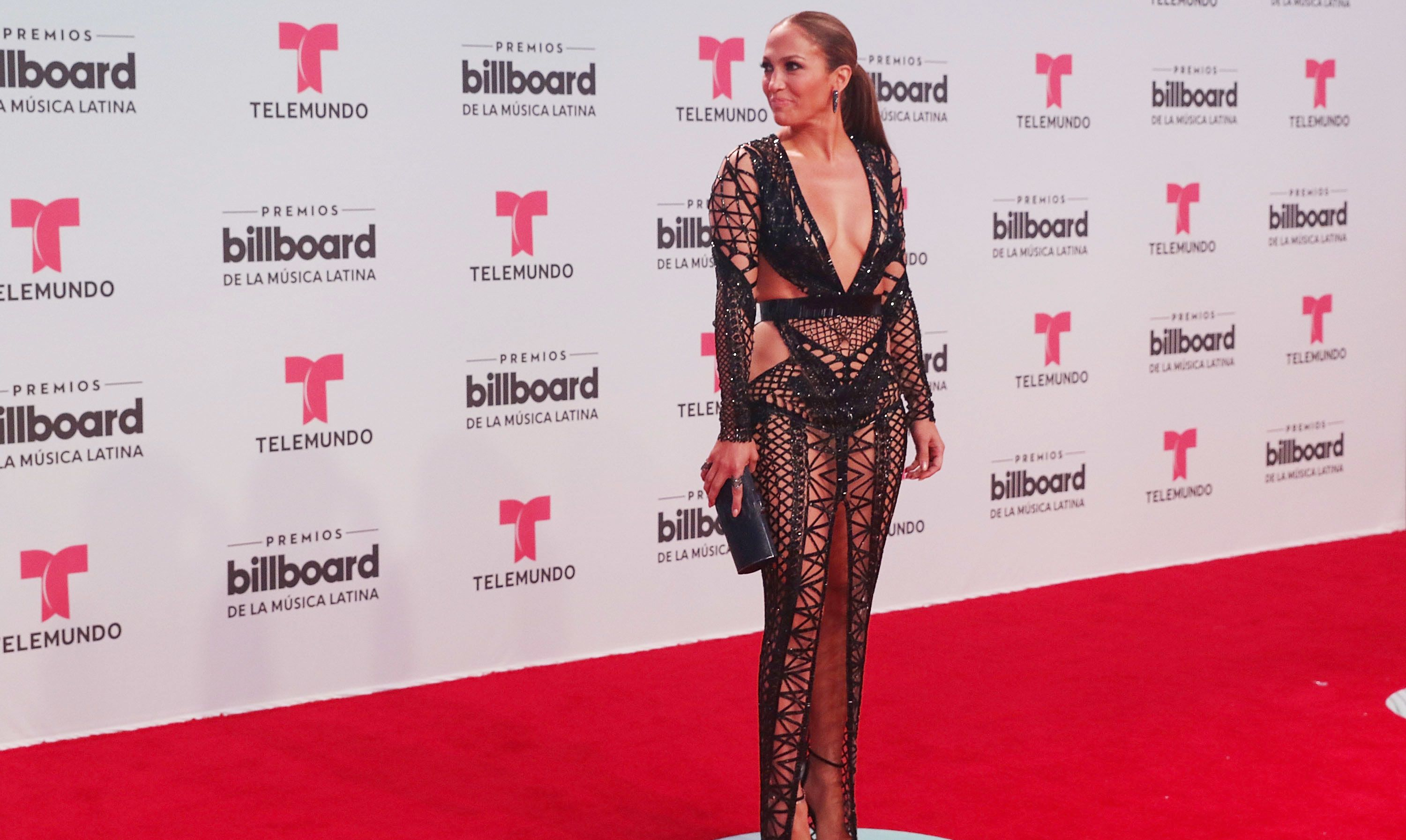 CORAL GABLES, FL - APRIL 27:  Jennifer Lopez attends Billboard Latin Music Awards - Arrivals at Watsco Center on April 27, 2017 in Coral Gables, Florida.  (Photo by Aaron Davidson/FilmMagic)