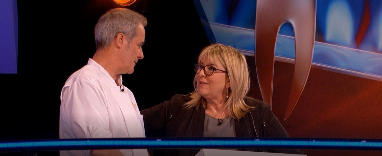 Fern Britton Gets Saucy As She's Reunited With Husband Phil Vickery On 'Culinary