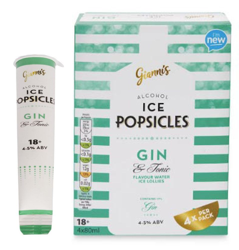 Aldi Is Now Selling Gin And Tonic Ice Lollies To Get You In The Mood For