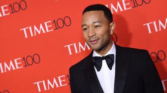John Legend attends the 2017 Time 100 Gala at Jazz at Lincoln Center on April 25, 2017 in New York City. / AFP PHOTO / ANGELA WEISS        (Photo credit should read ANGELA WEISS/AFP/Getty Images)