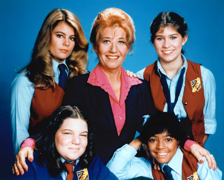 Charlotte Rae (center) has revealed to PEOPLE that she has been diagnosed with bone cancer.
