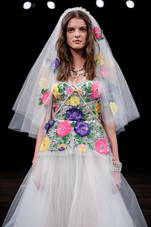 Bridal Fashion Week 2017: The Best Alternative Wedding Dresses And