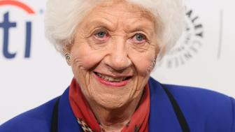 BEVERLY HILLS, CA - SEPTEMBER 15: Charlotte Rae attends the 2014 PaleyFestFall TV Previews - Fall Flashback: 'The Facts Of Life' 35th Anniversary Reunion on September 15, 2014, in Beverly Hills, California. (Photo by JB Lacroix/WireImage)