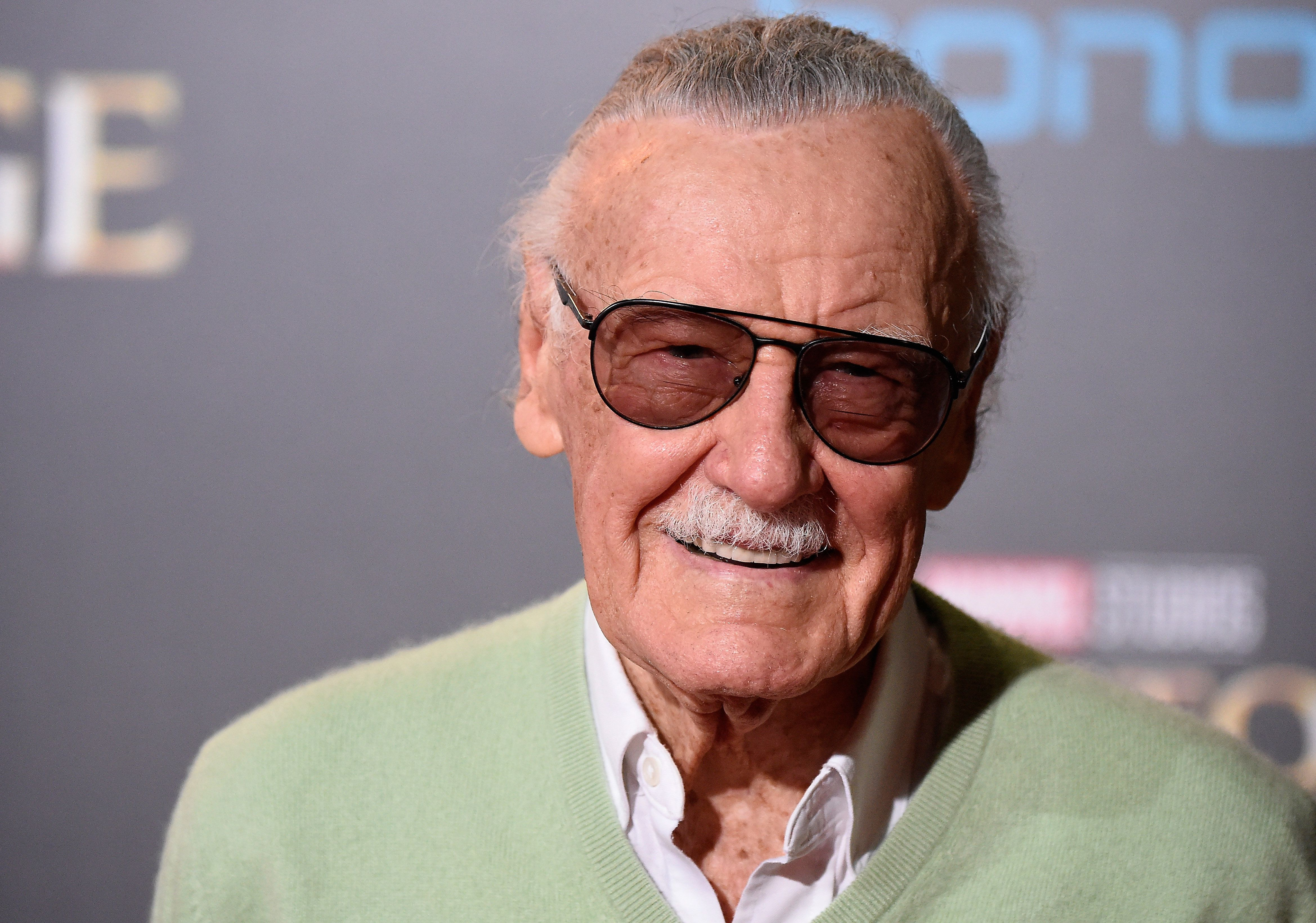 HOLLYWOOD, CA - OCTOBER 20:  Stan Lee attends the Premiere of Disney and Marvel Studios' 'Doctor Strange' on October 20, 2016 in Hollywood, California.  (Photo by Frazer Harrison/Getty Images)