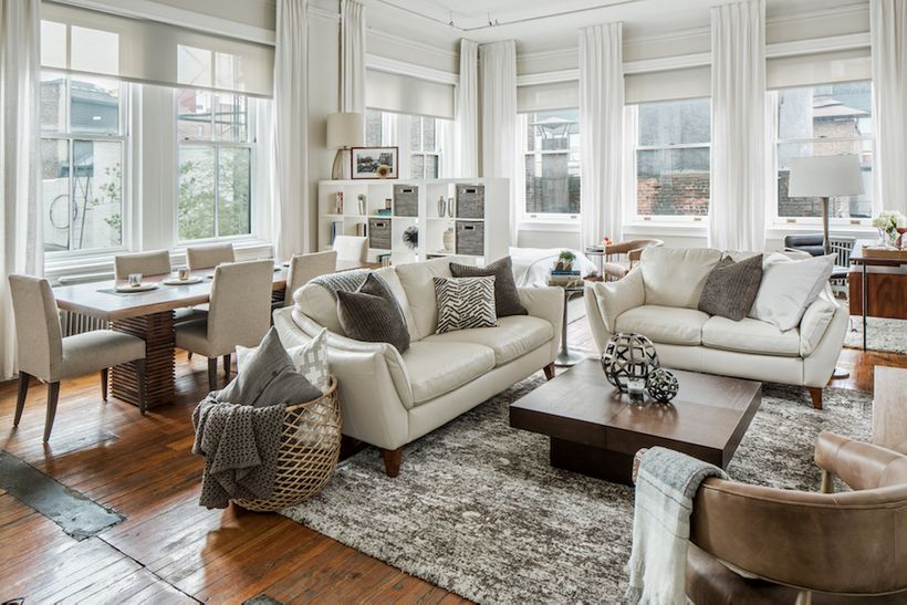 Creating A Rustic Living Room Decor: 9 Easy Ways To Make Your Apartment Look Bigger