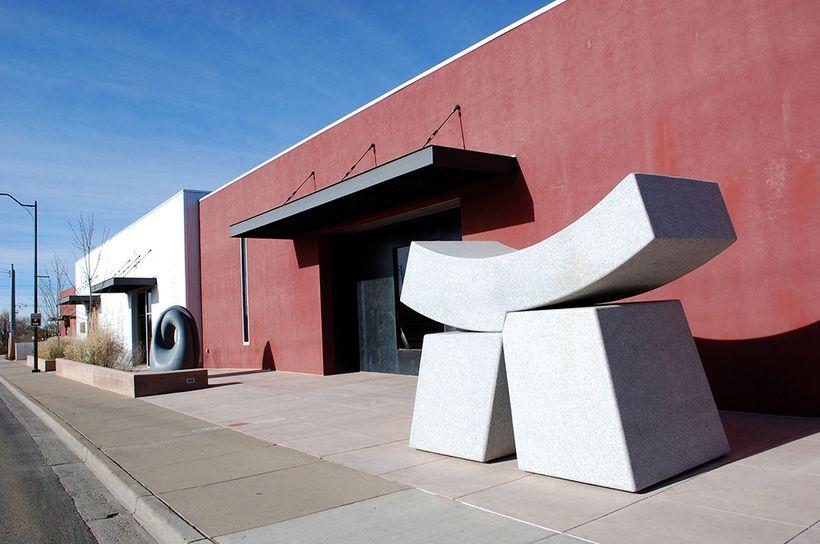 Santa Fe Railyard Galleries. Photo: Markkane.net.