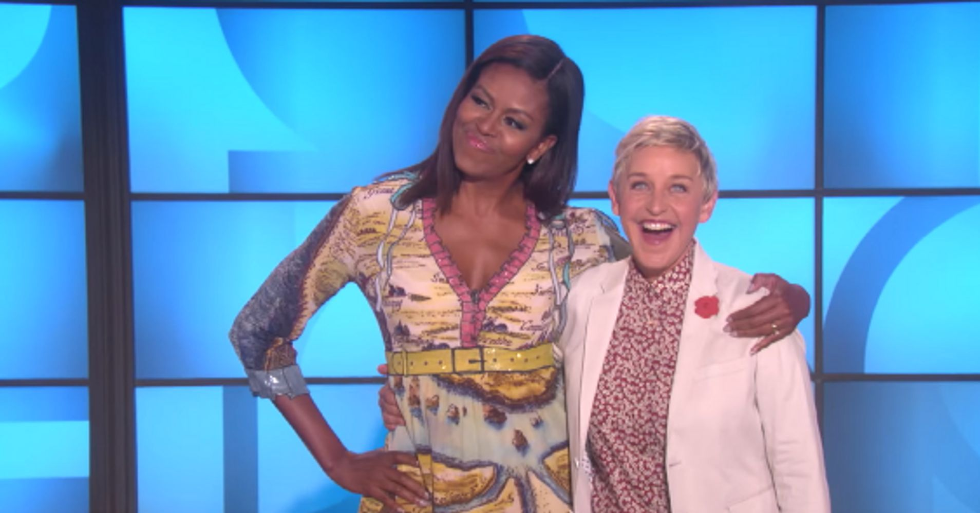 Michelle Obama Surprises Ellen On 20th Anniversary Of Coming Out