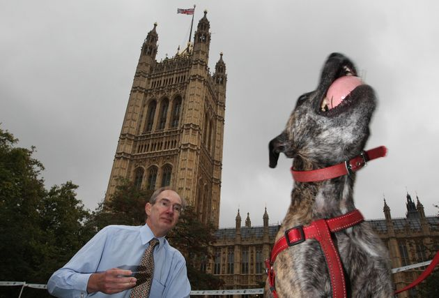 Turner pictured at the Westminster Dog Of The Year competition in