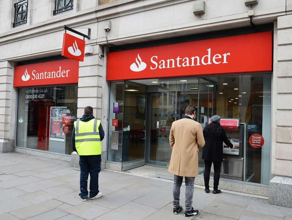 Santander was found to use 'short hours' contractsguaranteeing just 12 hours work a