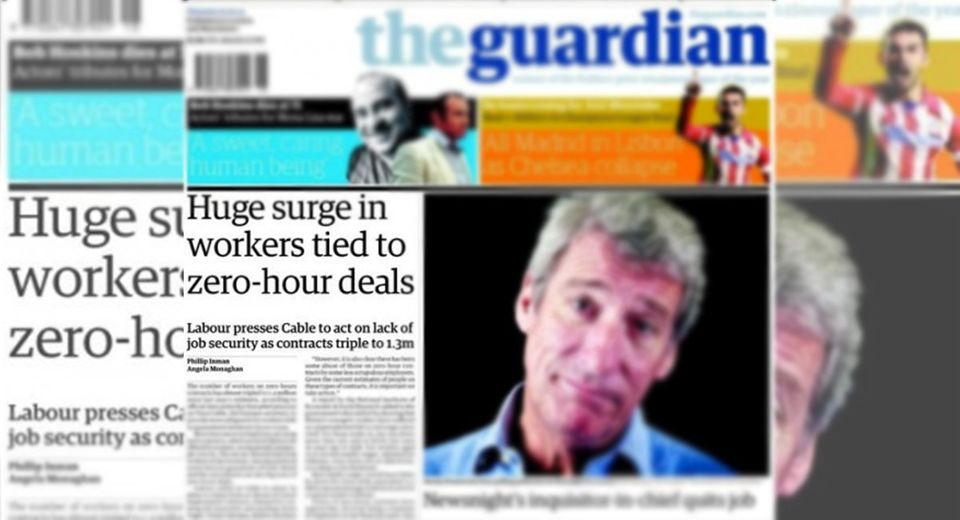 Bad press: Zero-hours deals grew after public outrage three years