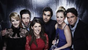 LOS ANGELES - JANUARY 18: The Cast of The Big Bang Theory visit with the CBS Photo Booth during the PEOPLE'S CHOICE AWARDS, the only major awards show where fans determine the nominees and winners across categories of movies, music and television. Broadcast live from the Microsoft Theatre Wednesday, Jan. 18, 2017 (9:00-11:00 PM, ET/delayed PT) on the CBS Television Network. (Photo by Cliff Lipson/CBS via Getty Images)