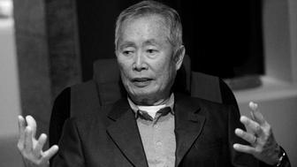 LOS ANGELES, CA - MARCH 11:  (EDITOR'S NOTE: IMAGE CONVERTED TO BLACK & WHITE)  Actor/activist George Takei at the 'New Frontiers: The Many Lives Of George Takei' Exhibition Press Conference held at Japanese American National Museum on March 11, 2017 in Los Angeles, California.  (Photo by Albert L. Ortega/Getty Images)
