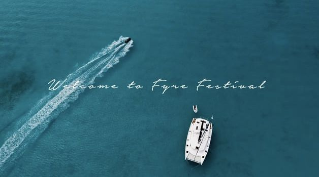 Fyre Festival promotional card