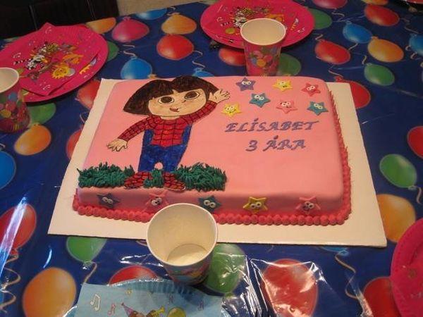 """What kind of cake do you want?"" <br>""Dora Spiderman."" <br>""Uuuuhh ok"" -- Maria Kristina Heraldsdottir"