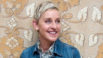 BEVERLY HILLS, CA - JUNE 09:  Ellen DeGeneres at the 'Finding Dory' Press Conference at the Montage Hotel on June 9, 2016 in Beverly Hills, California.  (Photo by Vera Anderson/WireImage)