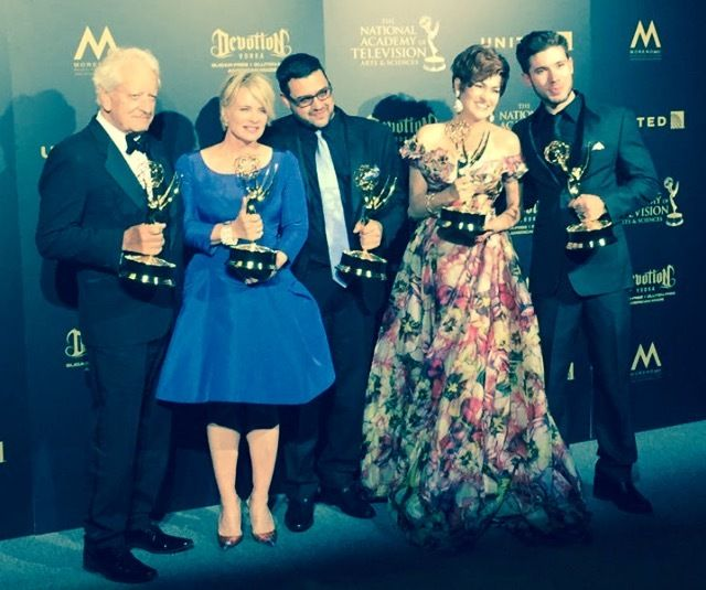 Emmy® winners Coster, Evans, Martin, Hennesy, & Andrews! Five for Five! The Sweep