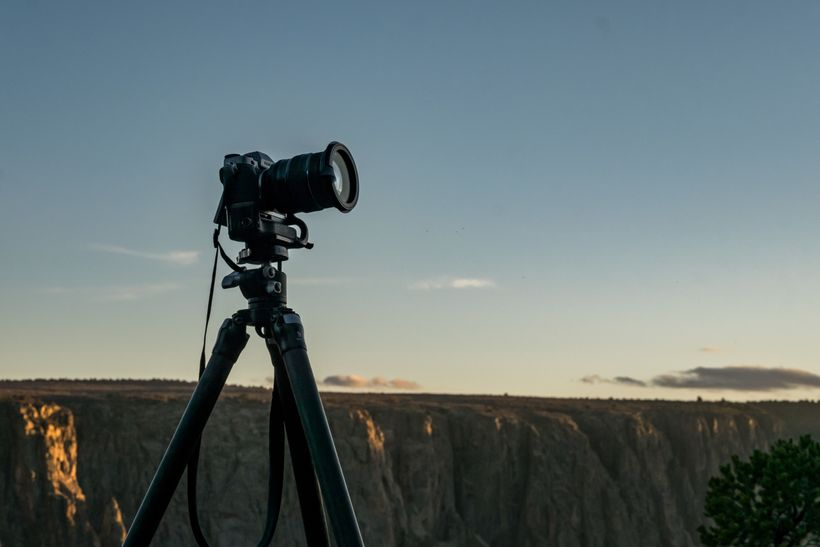 Use a sturdy tripod for the best images.