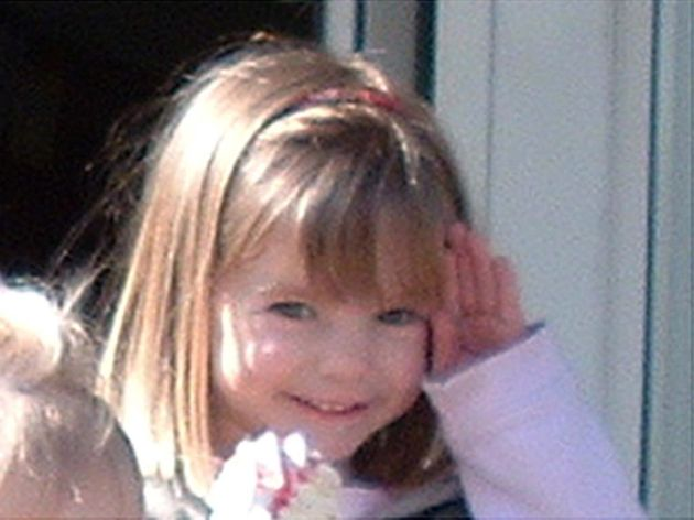 Undated family handout photo of three-year-old Madeleine McCann who went missing while on holiday in