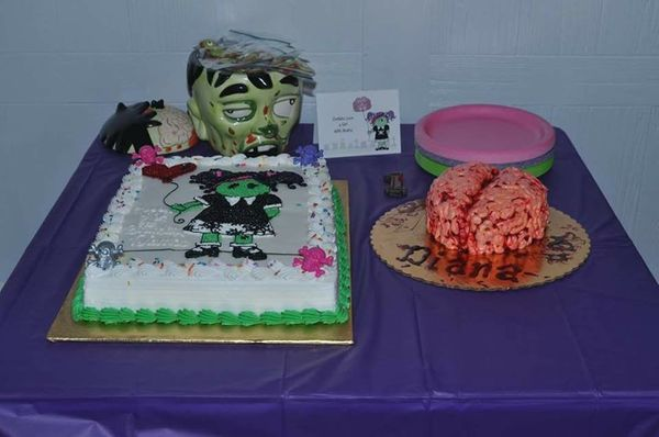 """Zombie-themed first birthday."" -- Kim Pfeffer"