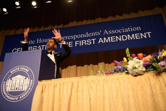 Comedian Hasan Minhaj hosted this year White House Correspondents' Association