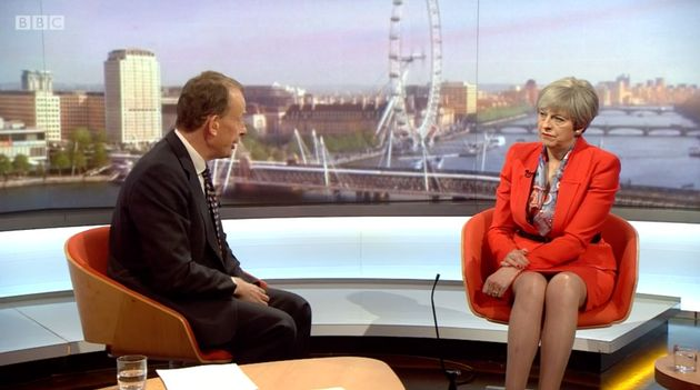 Andrew Marr quizzes Theresa May over reports nurses are using food