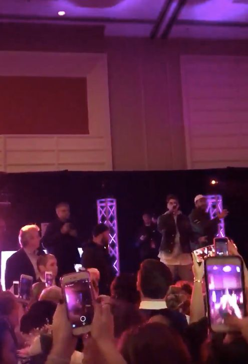The Chainsmokers crashed a high school prom on Saturday