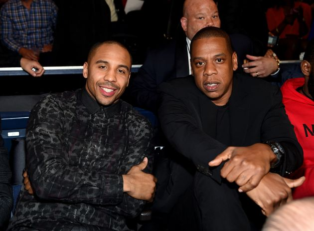 No, Jay-Z And Barry Chuckle Did Not Watch The Anthony Joshua Fight