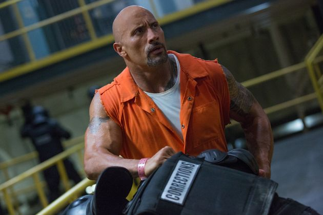 Dwayne Johnson stars as Hobbs in