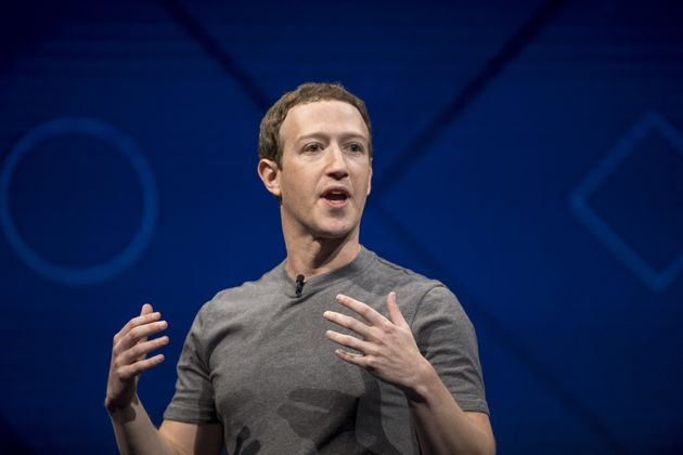 Mark Zuckerberg, chief executive officer and founder of Facebook Inc., speaks during the F8 Developers...