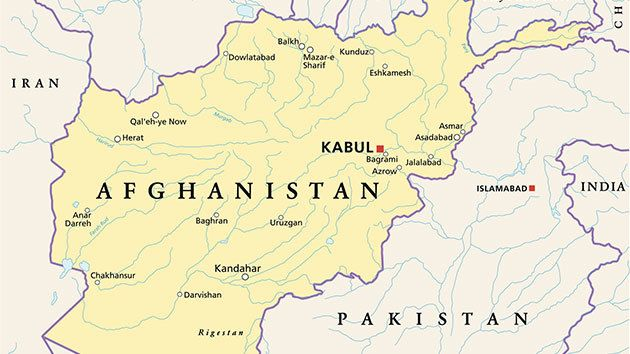 MOABs Bright Flash Turns Into A Dud In Afghanistan HuffPost - Afghanistan taliban dostums massouds map